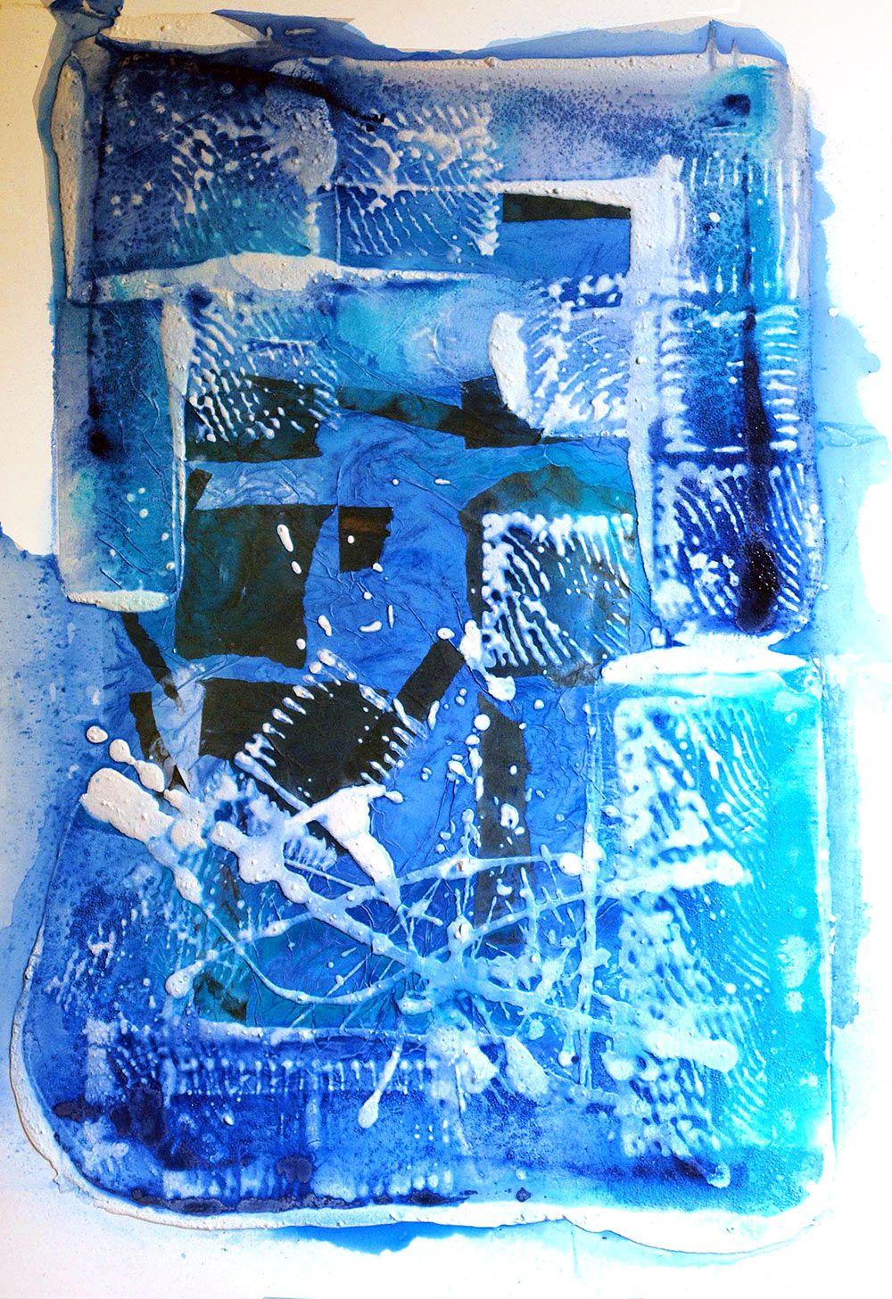 Tableau L'ange bleu