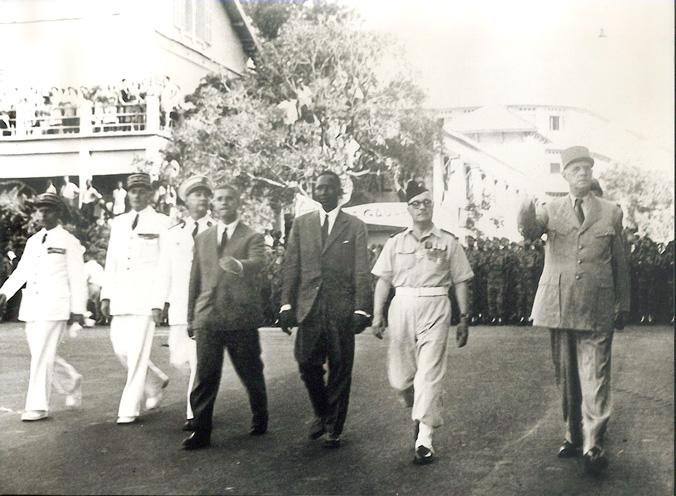 Les acteurs de l'Indépendance: Mr Valdiodio et le général De Gaulle